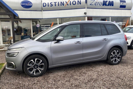 CITROEN C4 PICASSO Grand C4 SpaceTourer 1.5 BlueHDi - 130 S&S - BV EAT8 GRAND  2013 MONOSPACE Shine PHASE 2 occasion